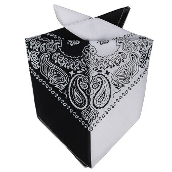 Harga Gracefulvara Fashion Unisex Cotton Paisley Bandanas Double Sided Head Wrap Scarf Wristband