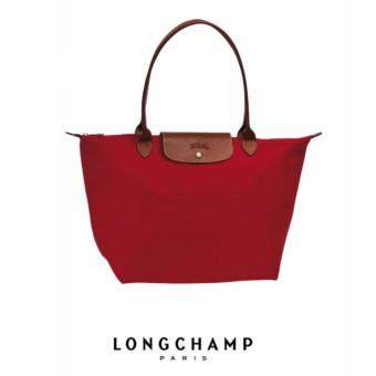 Harga AUTHENTIC LONGCHAMP LE PLIAGE TOTE 1899089 LARGE/LONG HANDLE (ROUGE)