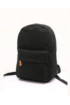 Harga Lace Canvas Backpack (Black)