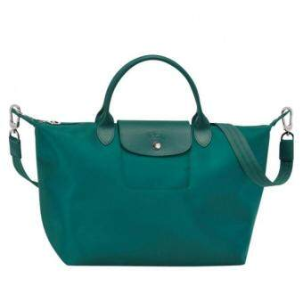Harga Longchamp Le Pliage Neo 1515 Medium 100% authentic guarantee (Emerald)