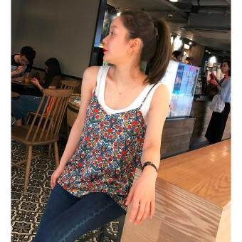Harga SisyChan Floral Tops with Narrow Straps 54951
