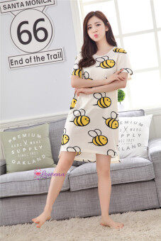 Harga Cotton Plus Size Bee Bee Sleepwear Pyjamas P0115