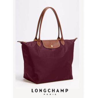 Harga AUTHENTIC LONGCHAMP LE PLIAGE TOTE 1899089 LARGE/LONG HANDLE (BORDEAUX)