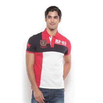 Harga Polo Haus - Polo Tee (Red/Blue)