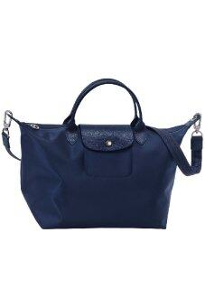 Harga Longchamp Le Pliage Neo Medium - (Navy)