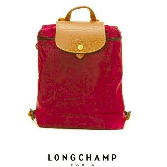 Harga AUTHENTIC LONGCHAMP LE PLIAGE BACKPACK 1699089 (BORDEAUX)