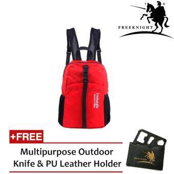 Harga Free Knight 30L Waterproof and Foldable Backpack 0711 Red