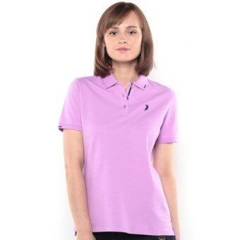 Harga Polo Haus - Polo Tee with Ziz Zag Stitches (Purple)