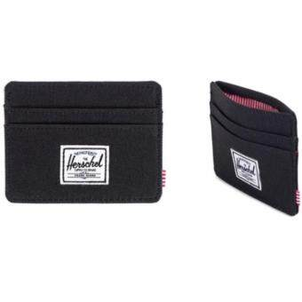 Harga Herschel Supply Co. Charlie Card Holder - Black