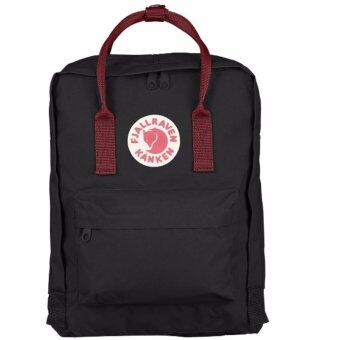 Harga Fjallraven Kanken Classic Backpack (Black/Ox Red)