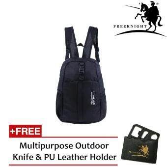 Harga Free Knight 30L Waterproof and Foldable Backpack 0711 Black