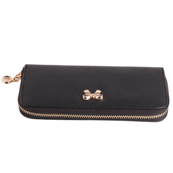 Harga Hanyu Hand Bag Lovely Pure Color Purse Wallet Black