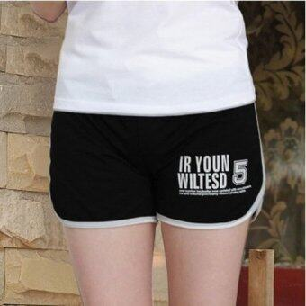 Harga Cotton Sport Shorts (Black)
