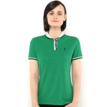 Harga Polo Haus - Polo Tee With Curve Collar (Green)
