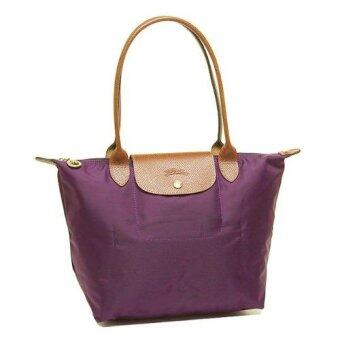 Harga AUTHENTIC LONGCHAMP LE PLIAGE TOTE 2605089 SMALL/LONG HANDLE (BILBERRY)