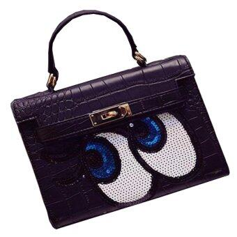 Harga Fashionable Affordable Mata Smile Handbags- Black