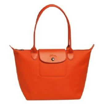 Harga Longchamp Planetes Long Handle Medium LC015A (Orange)