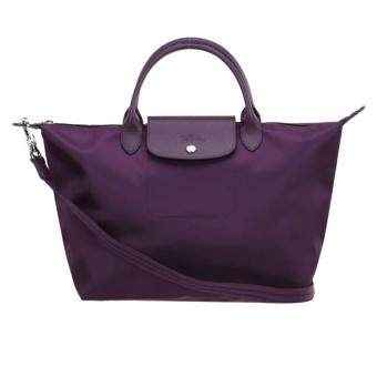 Harga Longchamp Le Pliage Neo 1515 Medium 100% authentic guarantee (purple)