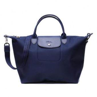 Harga Longchamp Le Pliage Neo 1515 Medium (Navy) 100% authentic guarantee
