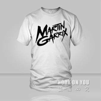 Harga THW cotton t shirt tee Men women Music DJ Martin Garrix T Shirt multicolor Hot selling o neck tees