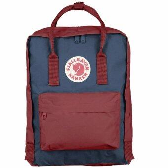 Harga Fjallraven Kanken Classic Backpack (Ox Red/Royal Blue)