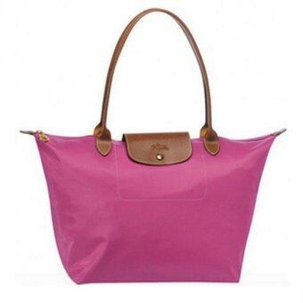 Harga Longchamp Le Pliage Long Handle Large (Pink)