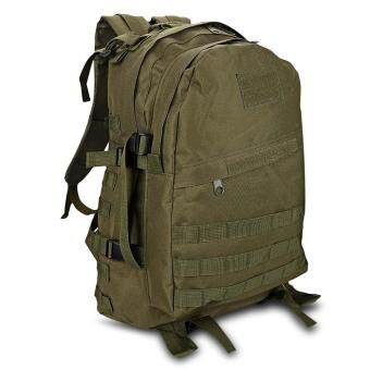 Harga Casual Waterproof Wear Breathable Sports Shoulder Backpack Army Green