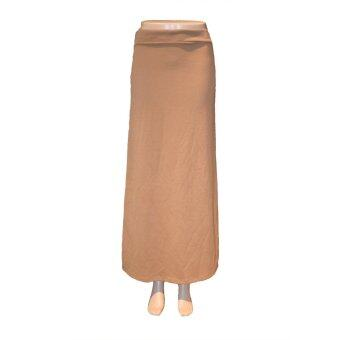 Harga Rimba A-Line Skirt Plain ST00848-(Brown)