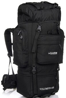 Harga Local Lion Hiking Backpack 85L (Black)