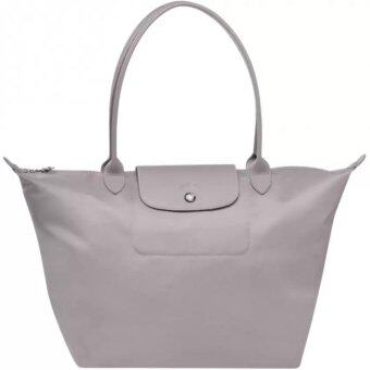 Harga Longchamp Planetes Long Handle Large LC016A (Grey)