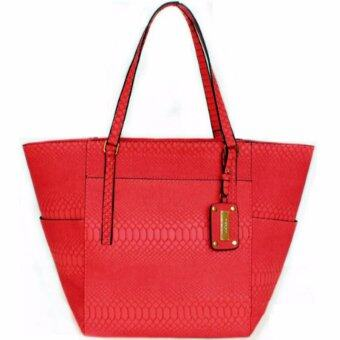 Harga Croc Tote Bag - Red