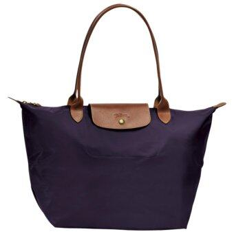 Harga Longchamp Le Pliage Large Tote Bag - (Bilberry)