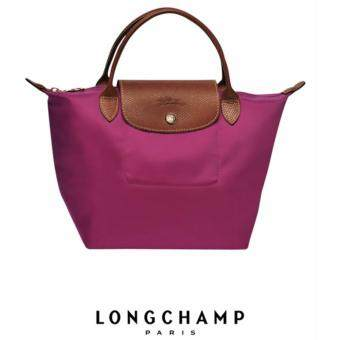 Harga LONGCHAMP LE PLIAGE TOTE 1621089 SMALL/SHORT HANDLE (FUSCHIA)