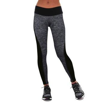Harga Gracefulvara Women Ladies Yoga Fitness Running Leggings Gym Exercise Sports Pants Trousers
