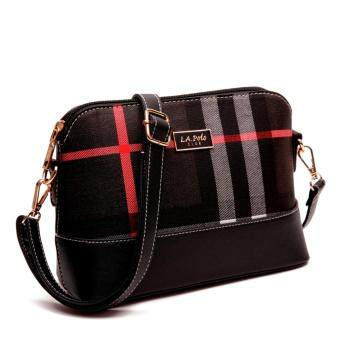 Harga LA POLO LA 20610 CROSS BODY BAG (BLACK)