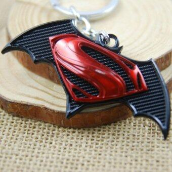 Harga 1pcs Movie Key Chain Superman VS Batman Keychain Men Gift Key Chain Key Holder(OVERSEAS)