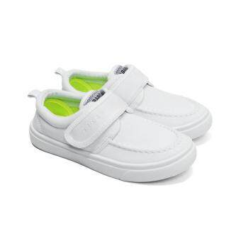 Harga Abaro School Shoes [NEW] 2215 - White Canvas Pre-School/Primary School Unisex