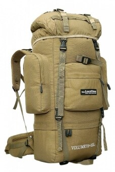 Harga Local Lion Hiking Backpack 85L (Khaki)