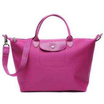 Harga Longchamp Le Pliage Neo 1512 Small (Hot Pink)