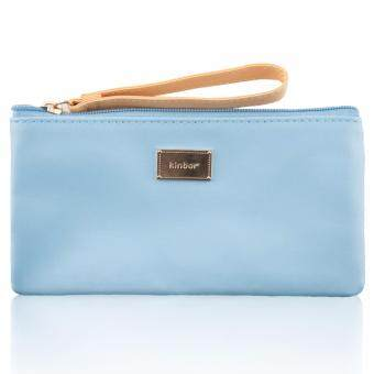 Harga Makeup Bag DTB6226 Handbag PU Candy Color Multifunctional Blue