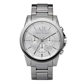 Harga Armani Exchange AX2058 Men's Outerbanks Chronograph Steel Watch