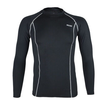 Harga ARSUXEO Cycling Sports Running Fitness Bike Bicycle Baselayer Underwear Long Sleeve Jersey Quick Dry Shirt Men