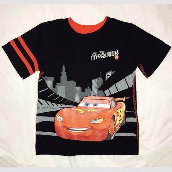 Harga Boys Short Sleeves Disney McQueen Tshirt
