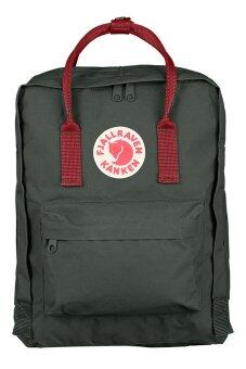 Harga Fjallraven Kanken Classic Backpack (Forest Green and Ox Red)