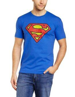 Harga Short Sleeves T-Shirt - Superman Logo - Blue