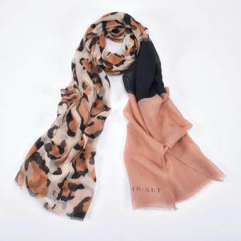Harga Classical Leopard Scarf Underscarf Capes Soft Long Shawl Sunshine prevent wrap 2*0.8M