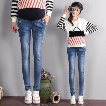 Harga New Maternity Belly Jeans Fashion