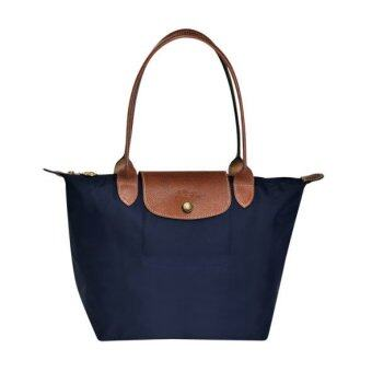 Harga LONGCHAMP LE PLIAGE TOTE 2605089 SMALL/LONG HANDLE (NAVY)