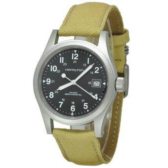 Harga Hamilton Khaki Field Mechanical Officer H69419933 (Silver)