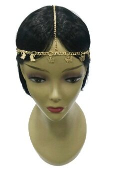 Harga Yona Fashion Fancy Butterfly Head Chain (Gold)